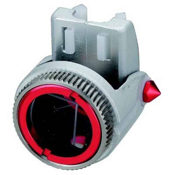 [送料無料] myzox マイゾックス M-700CPプリズム パチプリ 定数0 プリズム径0.7インチ 使用ピンポール径9mm 【測量/土木/光波用反射ミラー】