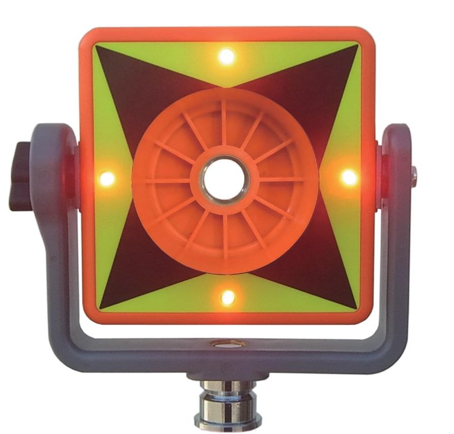 [送料無料] MYZOX マイゾックス LEDプリズムターゲット LED30 【測量/測距/ミラー/トータルステーション/土木】