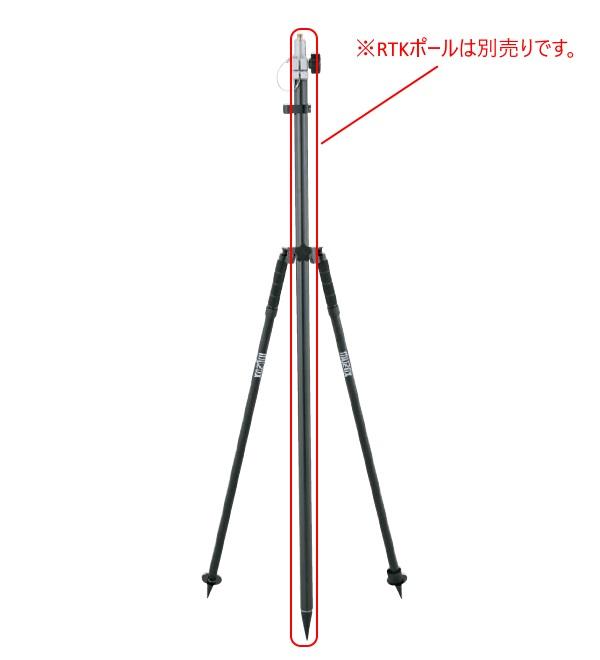 MYZOX マイゾックス バイポッド BIP-180 二脚 【GPS測量 CNSS測量 全球測位衛星システム】