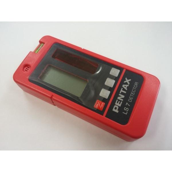 新品 PENTAX ペンタックス測量機 受光器 LS7 ディテクター [レーザーレベル PLP-601/602/701/702/60A用]