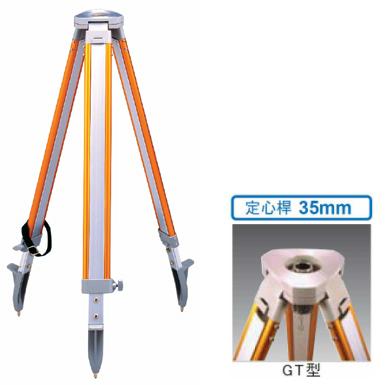 STS エスティーエス アルミ三脚 SOK-GT 平面 35mmねじ 3-503 [測量 トランシット 光波 セオドライト]