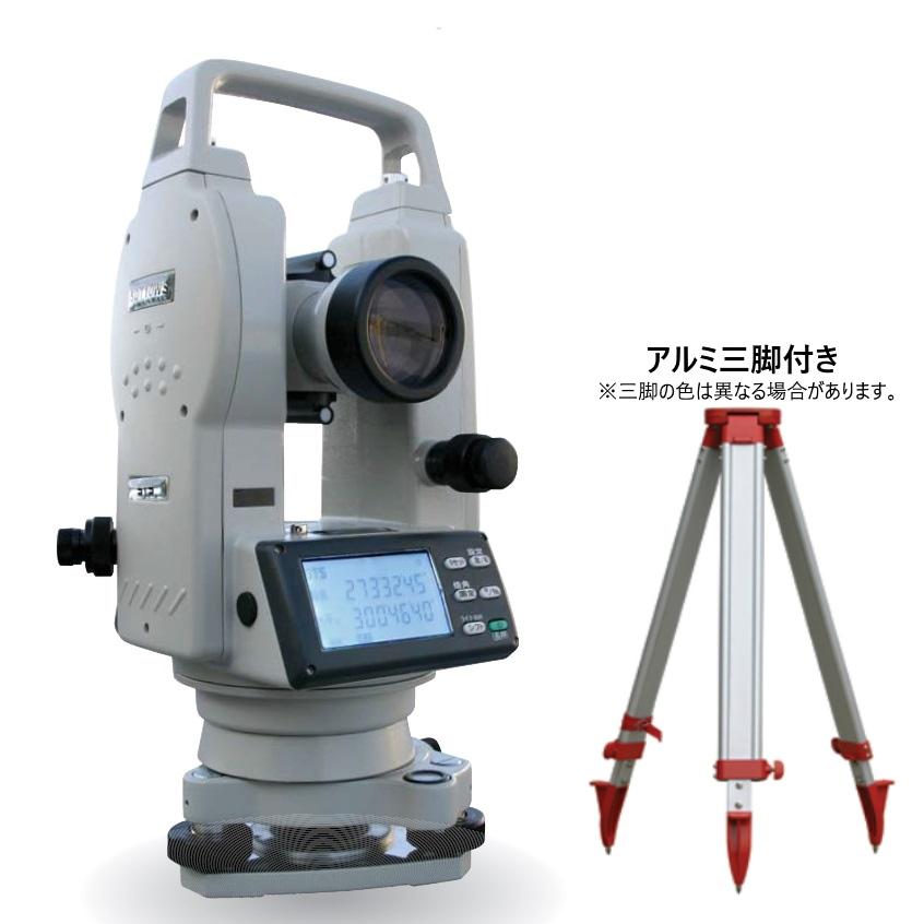 [校正証明書付・送料無料] 新品 STS電子セオドライト SDT10WS 標準セット(三脚付き) 30倍 測角精度5