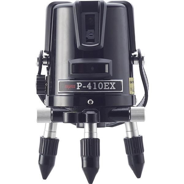 [保証付・送料無料] MYZOX マイゾックス レーザー墨出器 P-410EX 本体セット [当店は安心のJSIMA認定店です]