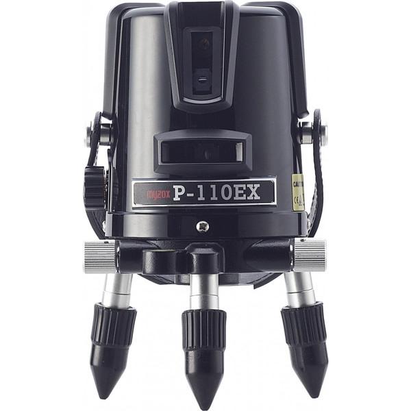 測量機器 墨出し器 MYZOX マイゾックス レーザー墨出器 P-110EX 本体セット