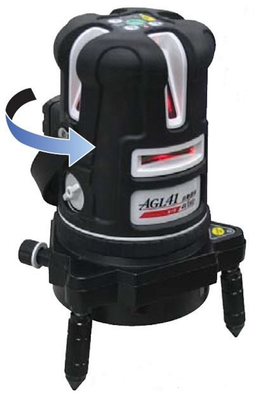 [保証付・送料無料] STS自動誘導レーザー墨出器 AGL41 標準セット(誘導受光器、他)