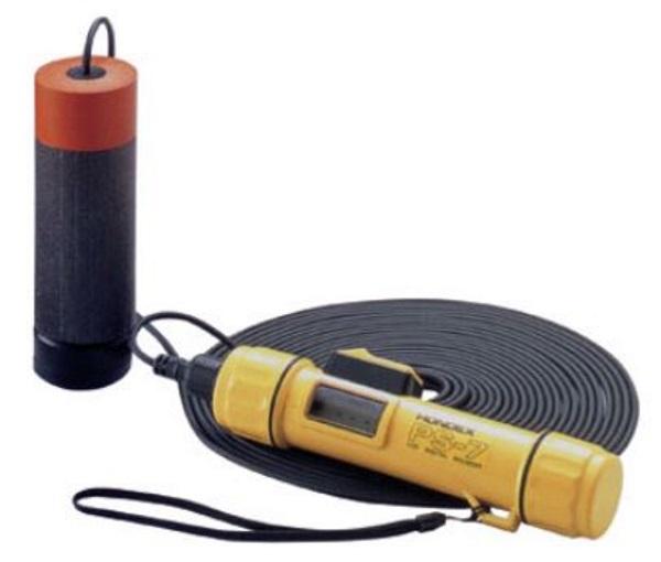HONDEX ポータブル測深器 PS-7FL フロートセンサ付