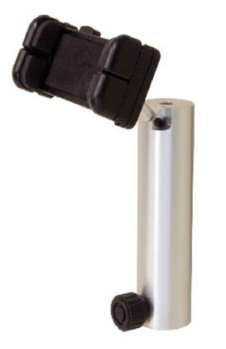 測量機器 計測機器 MYZOX マイゾックス DMスマホホルダー DM-SH6 取付可能ネジ径6mm雄ネジ スマホ固定可能サイズ幅58-85mm