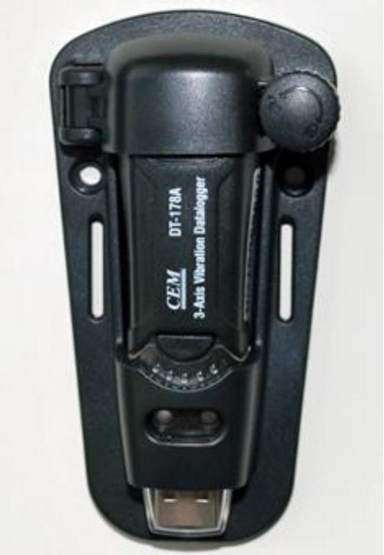 MK Scientific USB振動データロガー DT-178A 振動の加速度ピークを3軸で測定 グラフと数値表で表示
