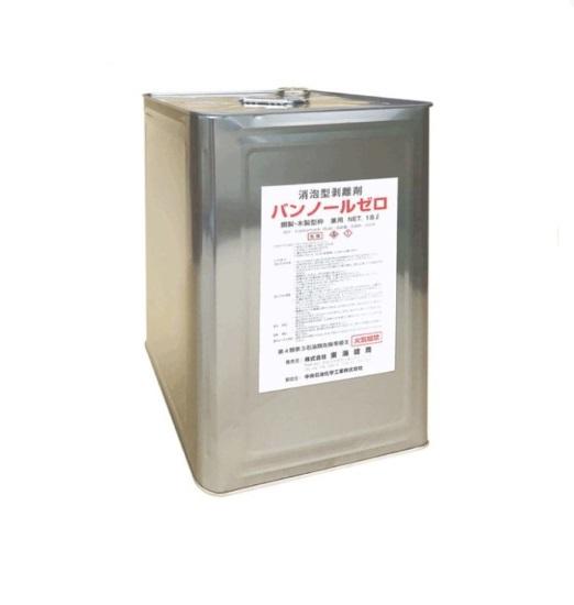 消泡型剥離剤 東海建商 バンノールゼロ 鋼製・木製型枠兼用 18L入【代引き決済不可】