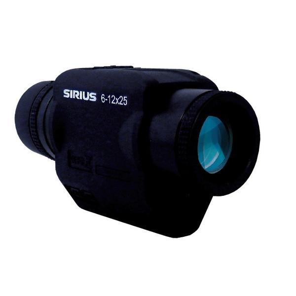SIRIUS シリウス 防振スコープ 6-12x25 望遠鏡倍率6-12倍 ジャイロセンサー内蔵 ブレない防振ズーム