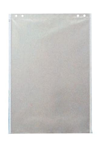 ワイドファスナーケース TT-A2 (10枚入) A2サイズ [設計図面袋 地図などの書類を保護]
