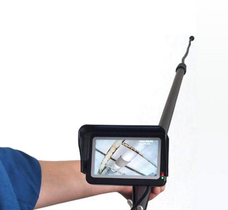 ポールカメラで高所点検を安心 安全に 高所点検カメラ 店 スリーアールソリューション 3R-FXS09-56 全長最大5.6m 3RFXS09 高所点検 橋梁点検 空調ダクト ポールカメラ 高所の設備点検 商舗