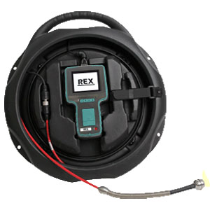 REX レッキス工業 Gラインスコープ GLS2810 管内カメラ 10mケーブル 型番440319 [建物検査 電気設備 機械設備 保守点検]