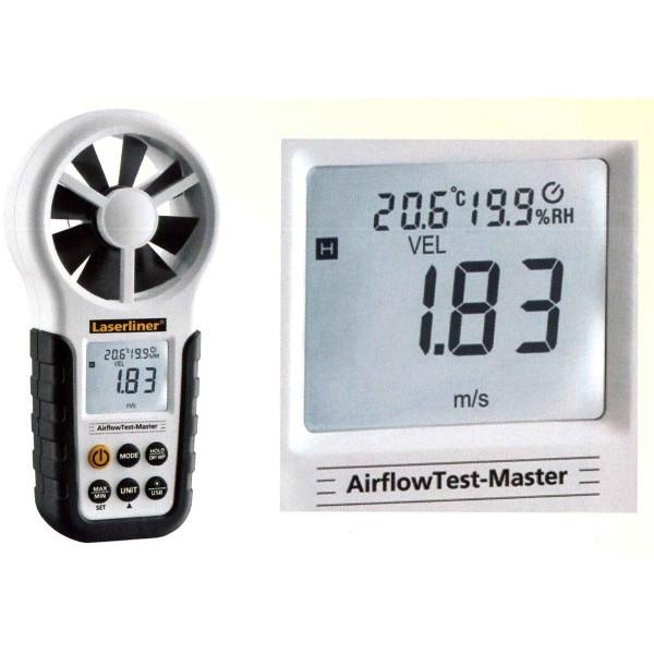 UMAREX ウマレックス 風速計 エアーフローテストマスター【室内/手術台/トンネル/工場/風速風量/温度/湿度管理】