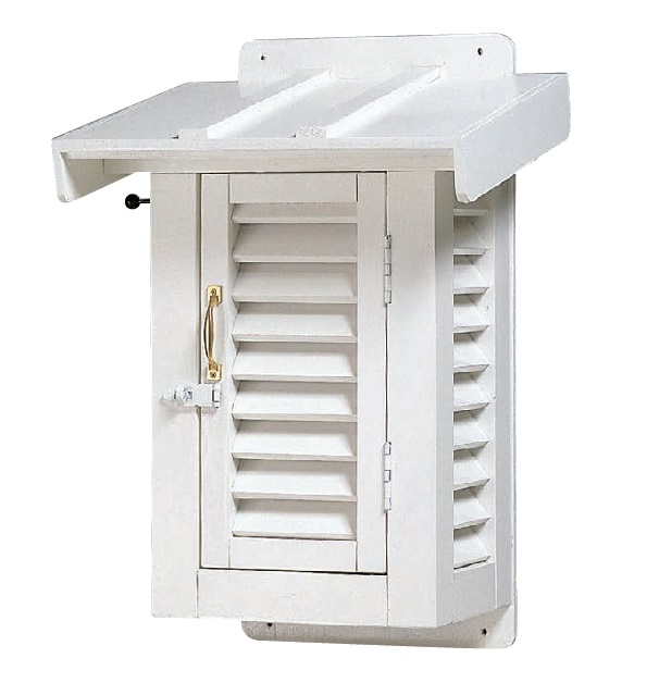 MYZOX マイゾックス 壁掛型百葉箱 [温湿度管理/温度/空調管理/学校教材/気象観測]