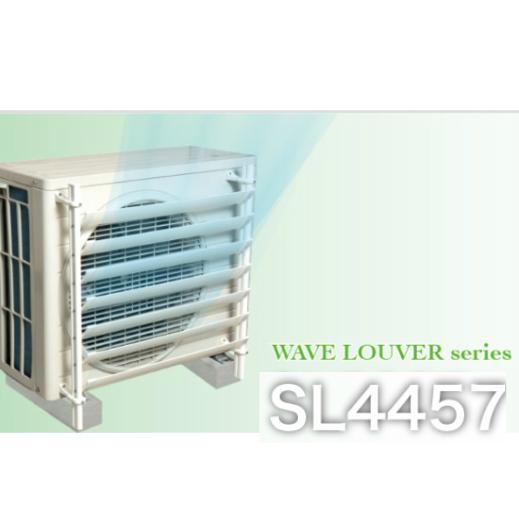 排気の風向きを変える 室外機ルーパー お買い得品 タカラ産業株式会社 男女兼用 SL4457