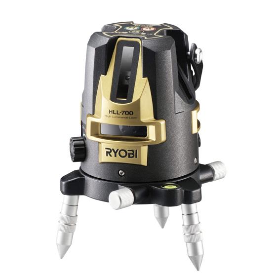 [送料無料] RYOBI リョービ HLL-700 レーザー墨出器 (受光器・三脚付き) 屋内外兼用 [建築 墨出し JSIMA認定事業者]