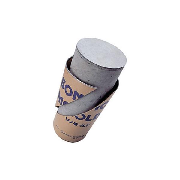コンクリート供試体成形型枠 ソノモールド(60本入) 50mm×100mm 紙製 準拠規格JIS A 1132
