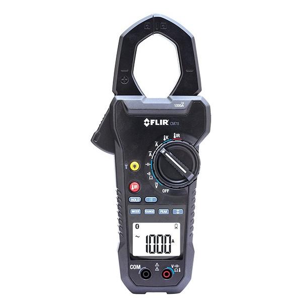 [送料無料] FLIR フリアー CM78 1000Aクランプメーター 赤外線温度計付 【電圧 電流 電気回路 モーター検査】※受発注商品のため納期約2週間です