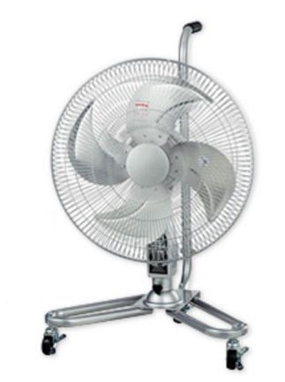 ナカトミ 全閉式アルミキャスター扇 CF-45C 業務用扇風機 熱中症予防 工場扇風機