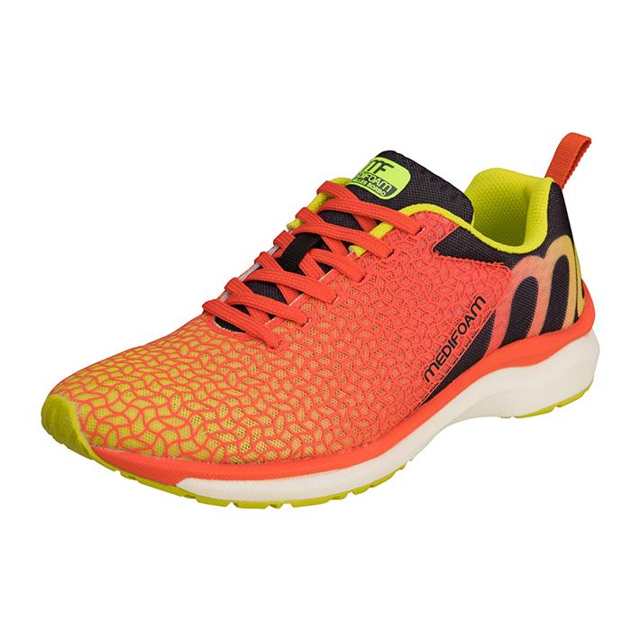 MEDIFOAM/メディフォーム RUNNERS HI MF103 ファイヤーレッド [MFR1030]アキレス・ソルボ/メディフォーム/ランニングシューズ メンズ/靴/ACHILLES SORBO