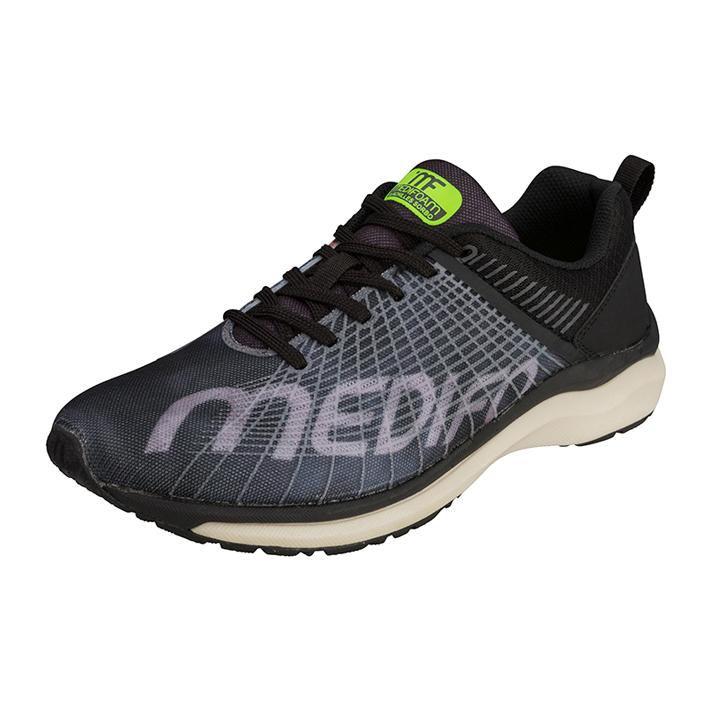 MEDIFOAM/メディフォーム ASCALON MF201ワイド ブラック [MFR2010]アキレス・ソルボ/メディフォーム/ランニングシューズ メンズシューズ/靴/ACHILLES SORBO
