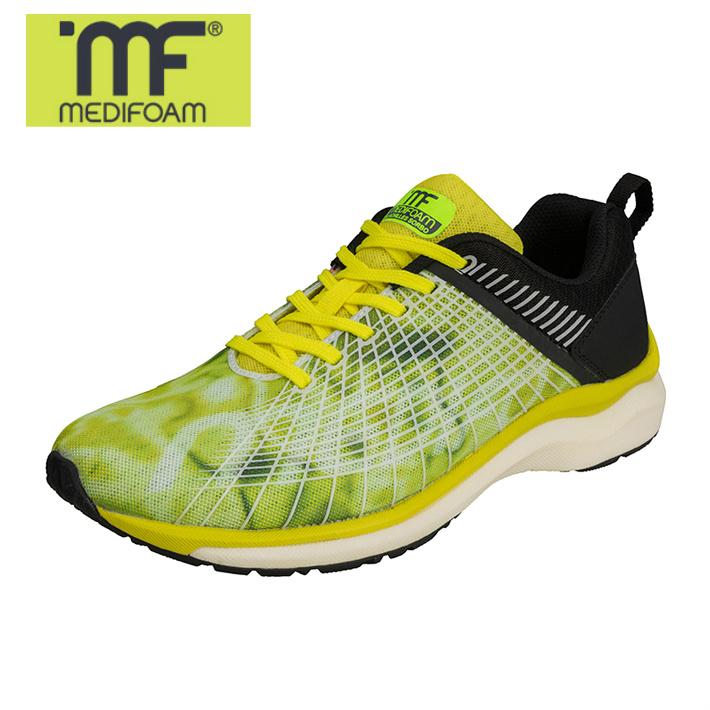 MEDIFOAM/メディフォーム ASCALON MF201ワイド イエロー [MFR2010]アキレス・ソルボ/メディフォーム/ランニングシューズ メンズシューズ/靴/ACHILLES SORBO