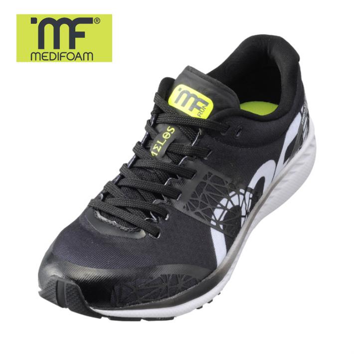 MEDIFOAM/メディフォーム 001 ブラック  MELOS  MF-001 [MFR0010]メディフォーム/ランニングシューズ ユニセックス