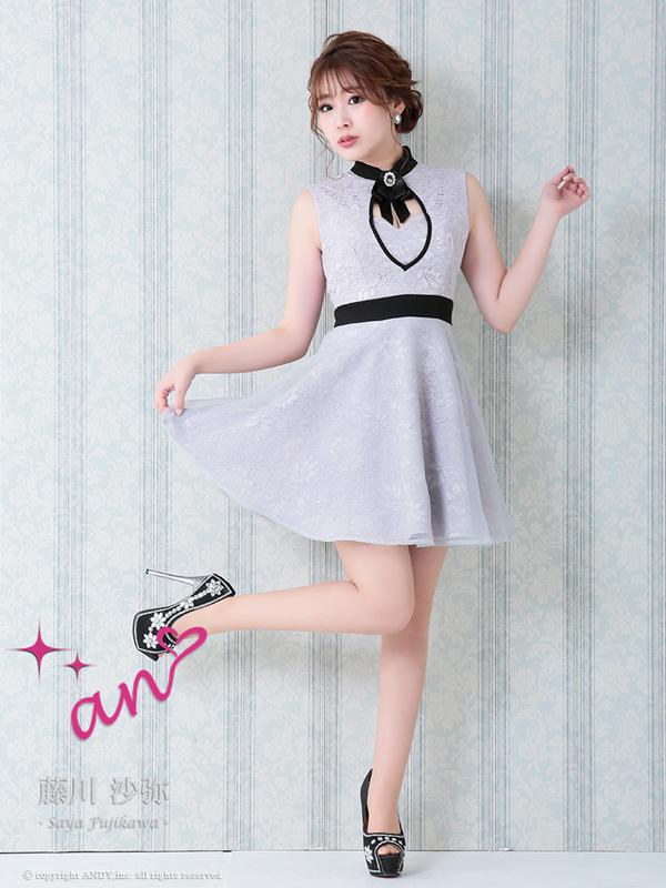 an ドレス AOC-2883 ワンピース ミニドレス Andyドレス アンドレス キャバクラ キャバ ドレス キャバドレス