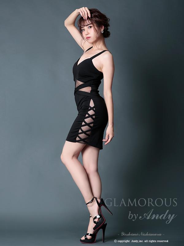 GLAMOROUS ドレス GMS-V490 ワンピース ミニドレス Andyドレス グラマラスドレス クラブ キャバ ドレス パーティードレス