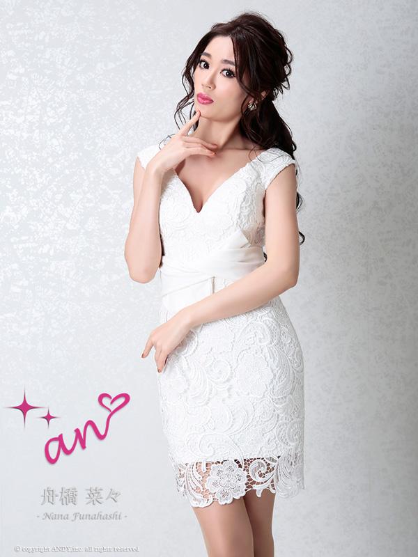 an ドレス AOC-2900 ワンピース ミニドレス Andy アン ドレス キャバクラ キャバ ドレス キャバドレス