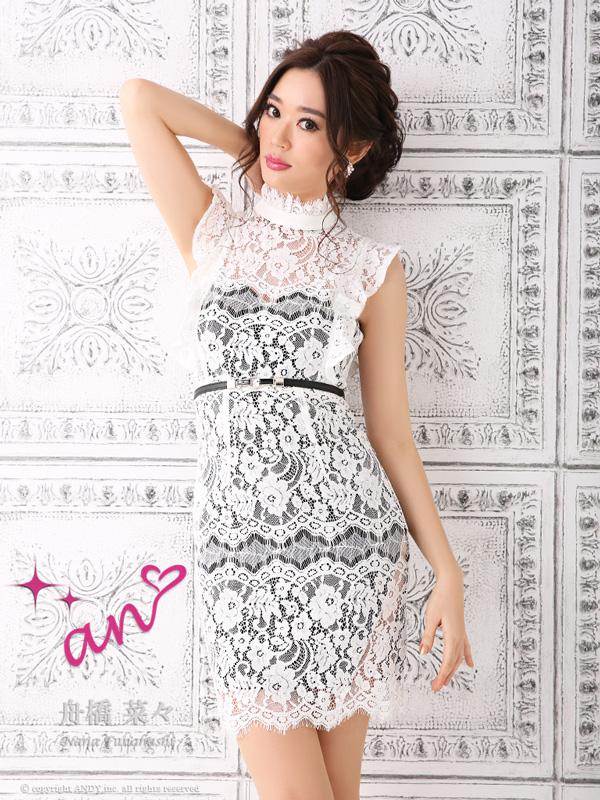 an ドレス AOC-2944 ワンピース ミニドレス Andy アン ドレス キャバクラ キャバ ドレス キャバドレス