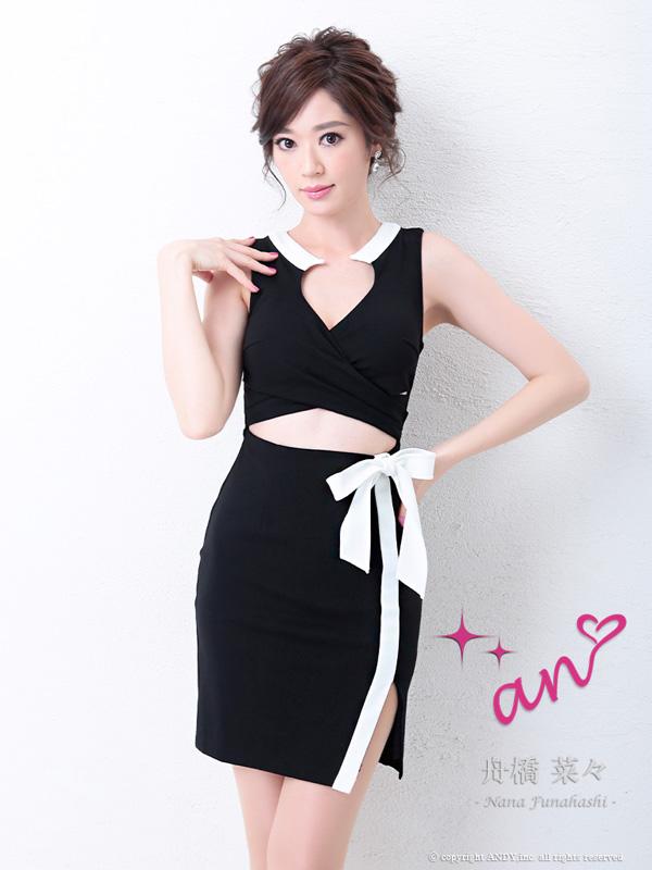 an ドレス AOC-2971 ワンピース ミニドレス Andyドレス アンドレス キャバクラ キャバ ドレス キャバドレス