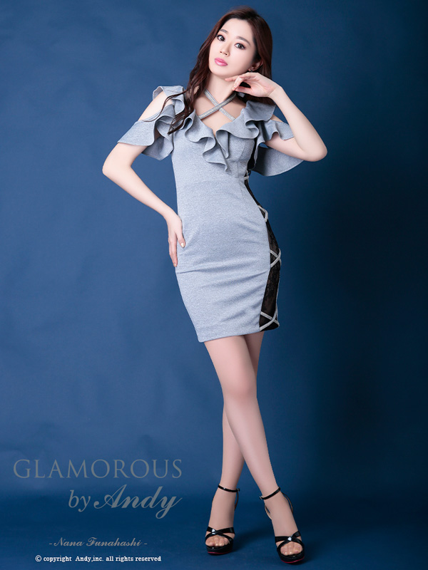 GLAMOROUS ドレス GMS-V532 ワンピース ミニドレス Andyドレス グラマラスドレス クラブ キャバ ドレス パーティードレス GLAMOROUS D-SELECTION 05 掲載商品
