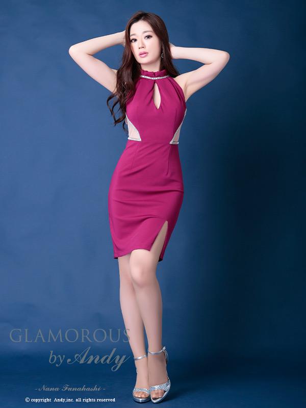 GLAMOROUS ドレス GMS-V534 ワンピース ミニドレス Andyドレス グラマラスドレス クラブ キャバ ドレス パーティードレス GLAMOROUS D-SELECTION 05 掲載商品