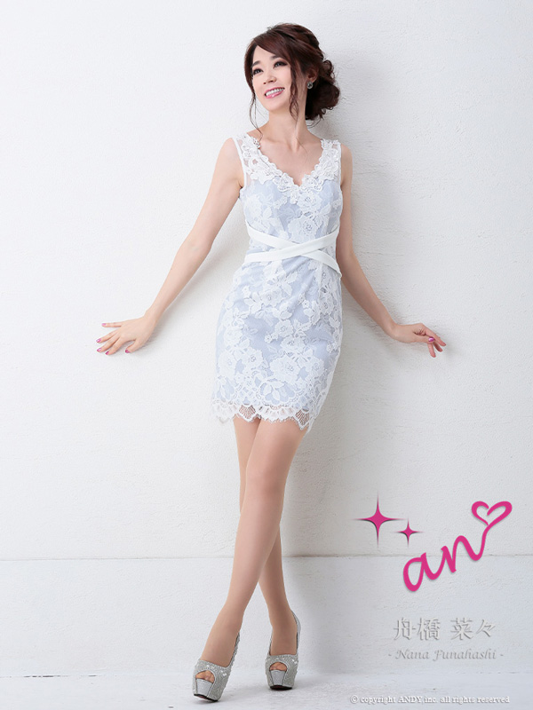 an ドレス AOC-2998 ワンピース ミニドレス Andyドレス アンドレス キャバクラ キャバ ドレス キャバドレス