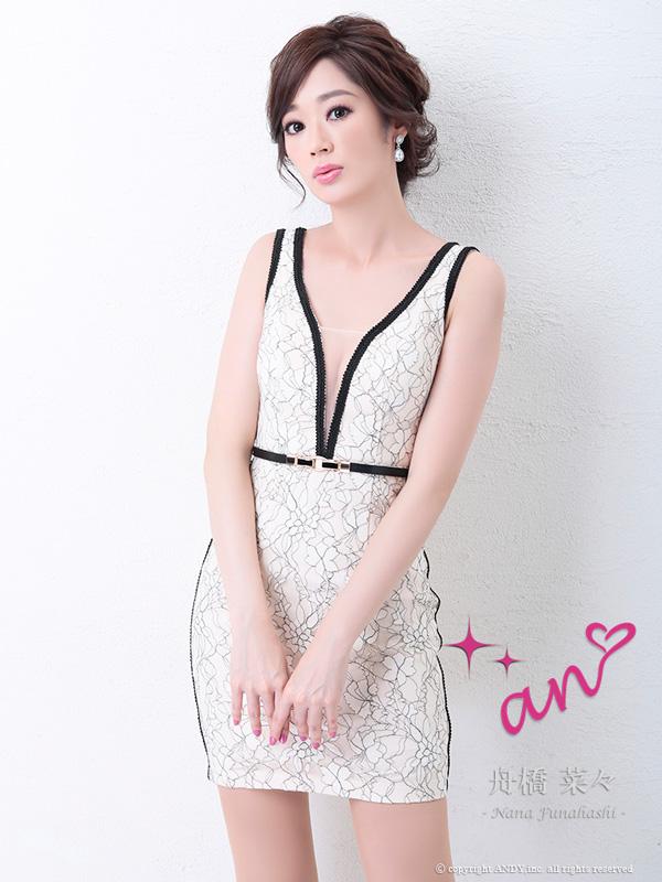 an ドレス AOC-2972 ワンピース ミニドレス Andyドレス アンドレス キャバクラ キャバ ドレス キャバドレス