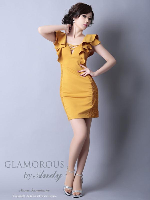 GLAMOROUS ドレス GMS-V542 ワンピース ミニドレス Andyドレス グラマラスドレス クラブ キャバ ドレス パーティードレス