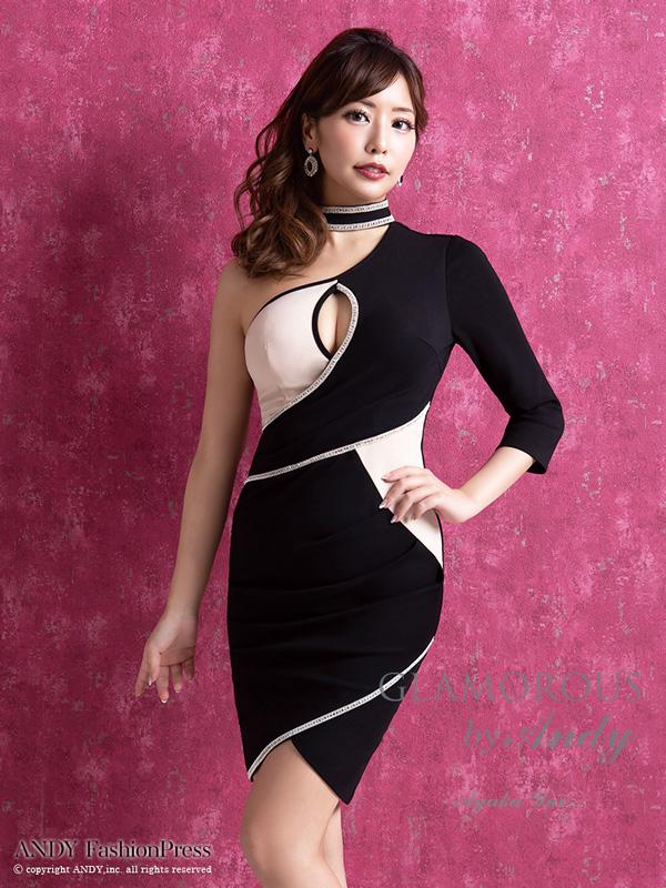 GLAMOROUS ドレス GMS-V546 ワンピース ミニドレス Andyドレス グラマラスドレス クラブ キャバ ドレス パーティードレス