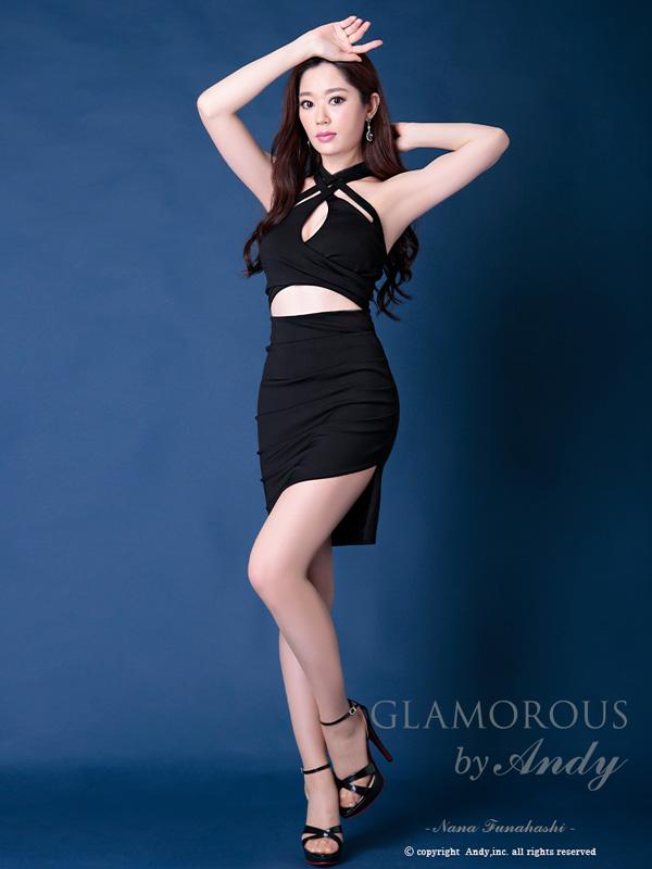 GLAMOROUS ドレス GMS-V541 ワンピース ミニドレス Andyドレス グラマラスドレス クラブ キャバ ドレス パーティードレス