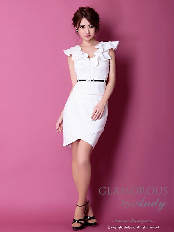 glamorousドレス 登場大人気アイテム gms-v609 ANDYドレス Andyドレス 送料無料 GLAMOROUS ドレス 格安 キャバ GMS-V609 セットアップ パーティードレス グラマラスドレス ミニドレス クラブ
