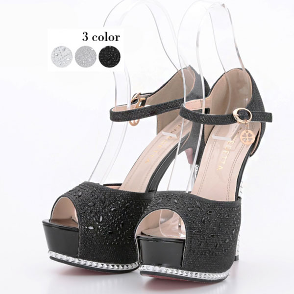 Sandals 3256 ☆ high heels ☆ trampling ☆ dresses and suits your ☆ Artmarry (art Mary) ♪ (female) auktn_fs