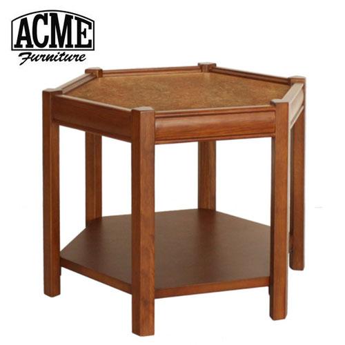 アクメファニチャー ACME Furniture BROOKS HEXAGONTABLE ベージュ ブルックス ヘキサゴンテーブル 家具 テーブル サイドテーブル【送料無料】