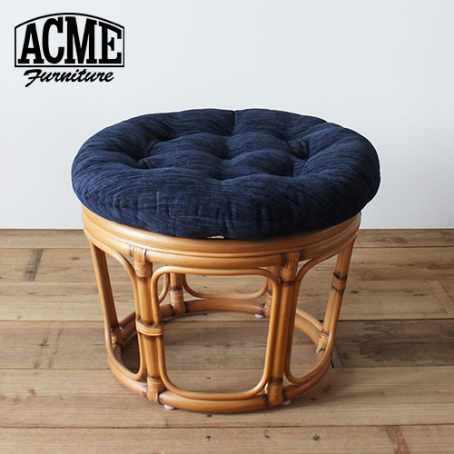 ACME Furniture アクメファニチャー WICKER STOOL NV ウイッカー スツール ネイビー 家具 スツール チェア【送料無料】