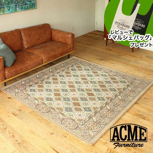 アクメファニチャー ACME Furniture GLENOAKS RUG グレンオークス ラグ 200x200cm ベージュ 家具 ラグ ラグマット マット ラグカーペット カーペット【送料無料】