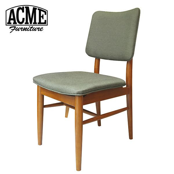 ACME Furniture アクメファニチャー BROOKS DINING CHAIR ブルックス ダイニングチェア 幅44cm 【カーキ】 B00CSCHKV0【送料無料】