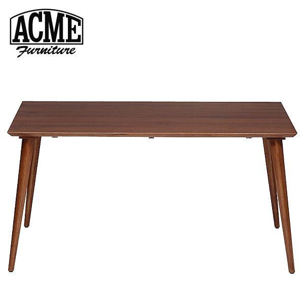 ACME Furniture アクメファニチャー CARDIFF DINING TABLE WALNUT カーディフ ダイニングテーブル WALNUT 幅150cm【2個口】 B00IIZ16FW