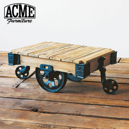 ACME Furniture(アクメファニチャー) GUILD DOLLY TABLE S ギルド ドーリーテーブル 幅90cm