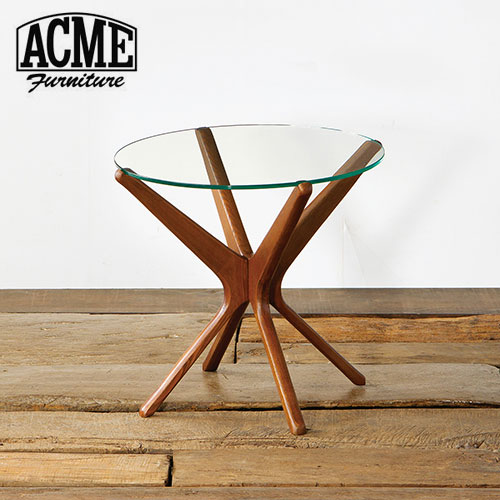 ACME Furniture アクメファニチャー TRESTLES SIDE TABLE 50cm CLEAR テーブル【送料無料】
