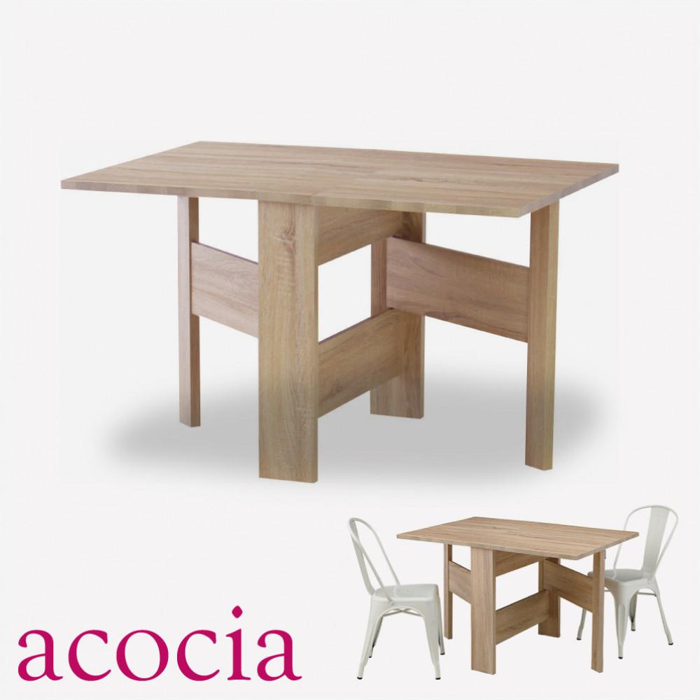 おしゃれ 【本革 高級ソファー セール】 【ダイニングチェア セール】 【ベランダ アウトドア】 テーブル ダイニングテーブル 木製 W120×D80×H72 フォールディングダイニングテーブル cafe カフェ サロン
